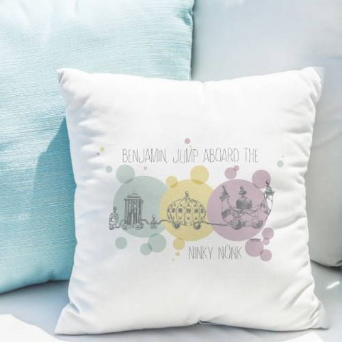 Personalised  In The Night Garden Ninky Nonk Cushion